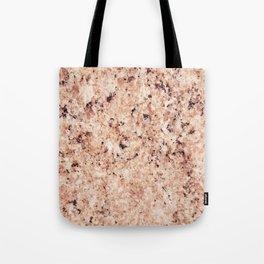 Vintage abstract orange brown rustic marble Tote Bag