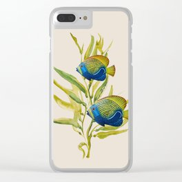 Fishes 2 Clear iPhone Case