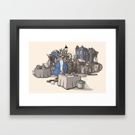 Collection of Curiosities Framed Art Print