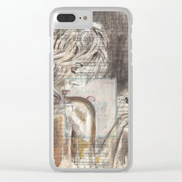 The Dream Girl Clear iPhone Case