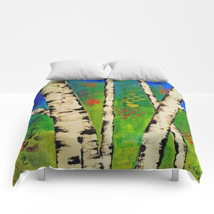 Blue Birch Comforters