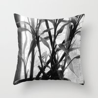 bamboo Throw Pillows featuring Bamboo by Lindzey42