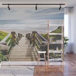Beach Stairway Wall Mural