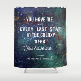 Every Last Star in the Galaxy Shower Curtain