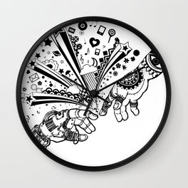 Creation of human Wall Clock