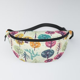 Colorful Forest Fanny Pack