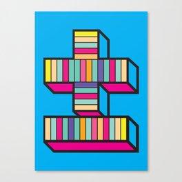 plusminus Canvas Print