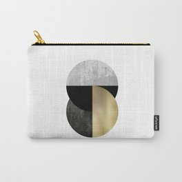 Moon Phase, Mid Century Modern,Scandinavian Abstract Carry-All Pouch