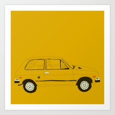 Yugo — The Worst Car in History Art Print
