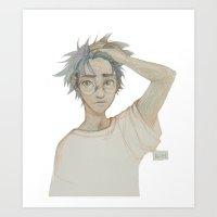 burdge Art Prints featuring Like Lightning by Burdge