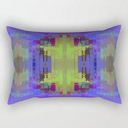 BLUE PATCHWORK Rectangular Pillow