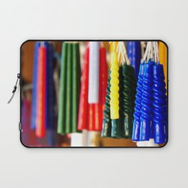 the colors of hope in candles Laptop Sleeve