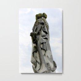 Statue of Hope Metal Print