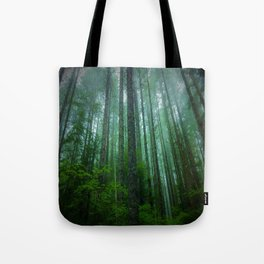 Misty Mountain Forest Tote Bag