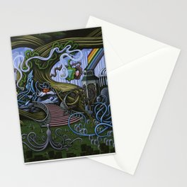 Existing Only In The Light Stationery Cards
