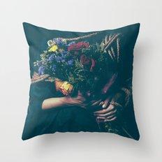 Burdened Throw Pillow
