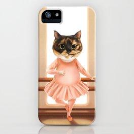 Ballerina Cat iPhone Case