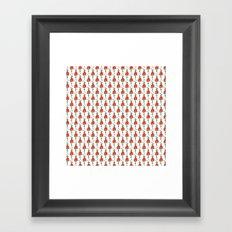 Tulip Dress Framed Art Print