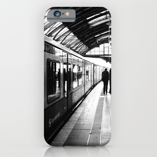 S-Bahn Berlin black and white photo iPhone & iPod Case