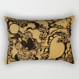 Explosion  Rectangular Pillow