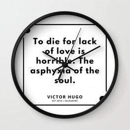 38    Victor Hugo Quotes   190830 Wall Clock