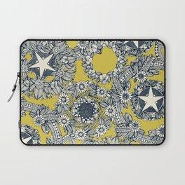 cirque fleur gold Laptop Sleeve