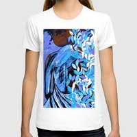 woman T-shirts featuring Woman  by Saundra Myles