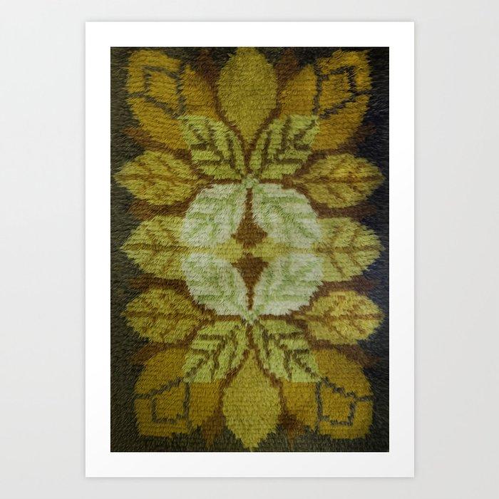 YellowFlower Art Print