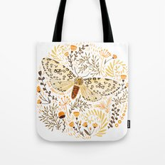 Giant Leopard Moth Tote Bag