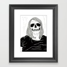 Already Dead Framed Art Print