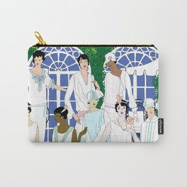 Gatsby Girl Garden Party Carry-All Pouch