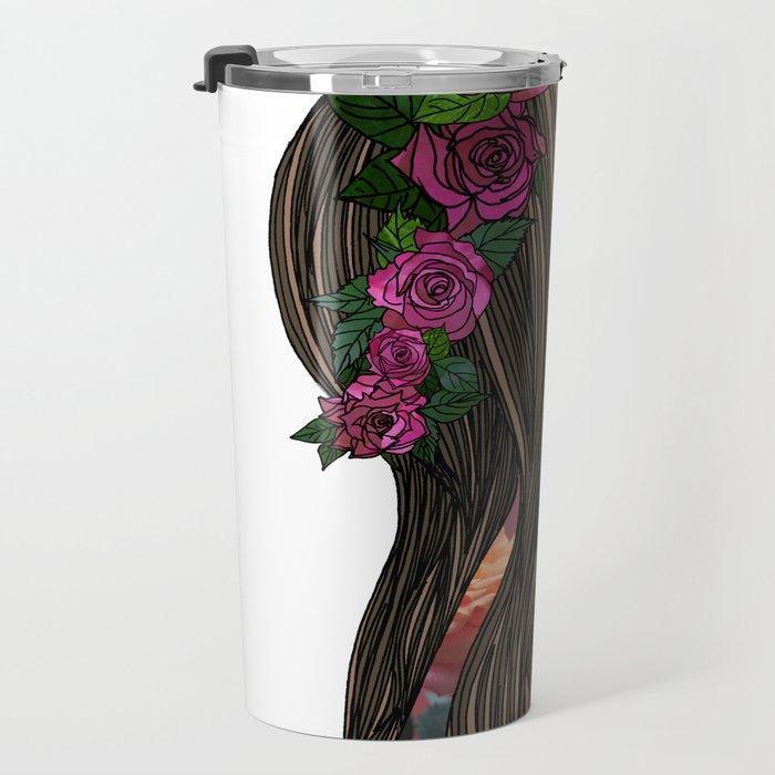 Rose Travel Mug