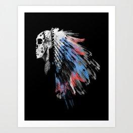 Dead Chief Art Print