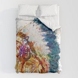 Native American Chief Comforters