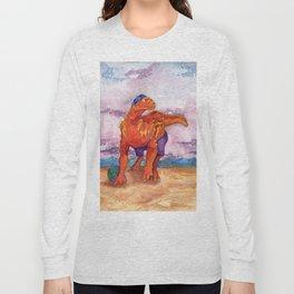 Beach Ball Dinosaur - Barney Long Sleeve T-shirt