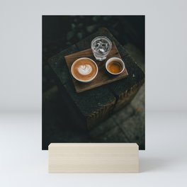 Cafe Latte Art II Mini Art Print
