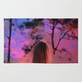 Summer In NYC Wanderlust Portrait Rug