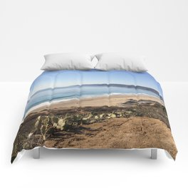 Malibu, California - Coastline Comforters
