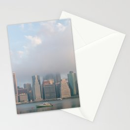 Cloudy in New York Stationery Cards