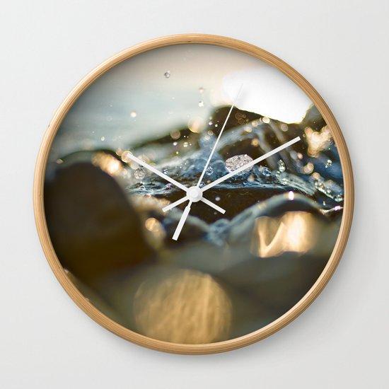 Glittering, shimmering ... Wall Clock
