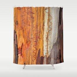 Tree Bark Abstract # 16 Shower Curtain