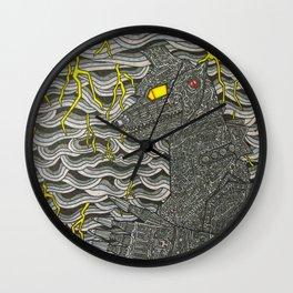 Mecha Godzilla Wall Clock
