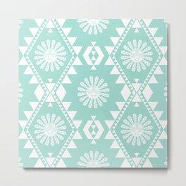 Southwest - Sweet Mint Metal Print