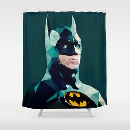Dark Stare Shower Curtain