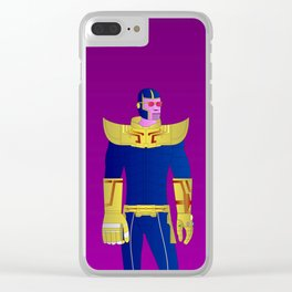 Thanos Clear iPhone Case