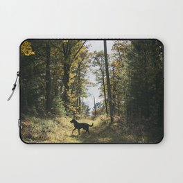 A Walk with Charlie Laptop Sleeve