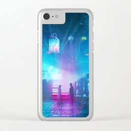 BLADE RUNNER Painting Poster | PRINTS | Blade Runner 2049 | #M6 Clear iPhone Case