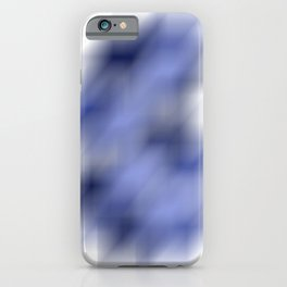 Cool Cube Abstract Optical Illusion - Watercolor Digital Artwork iPhone Case