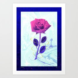 Arien Rose Art Print