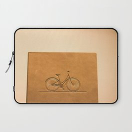 i like to ride my bicycle  Laptop Sleeve